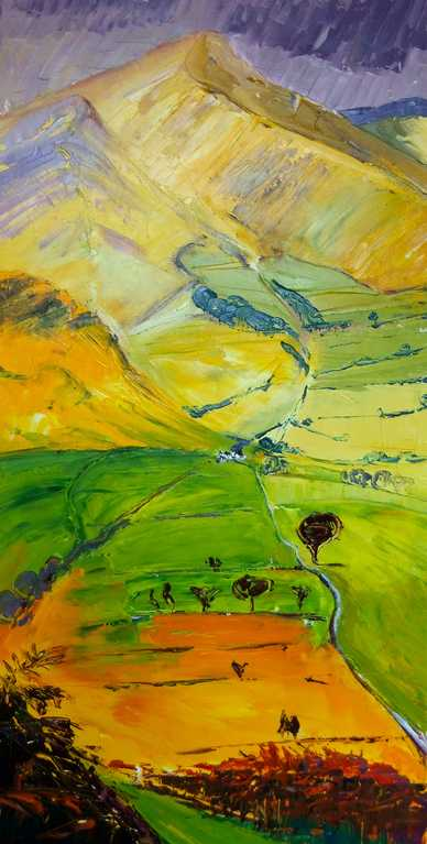 Little Town Farm Catbells Newlands Valley ne taylor artist
